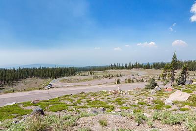 Ski Bowl Trail. Shasta National Forest - Mount Shasta, CA, USA