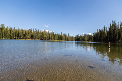 Summit Lake. Lassen Volcanic National Park - California, USA