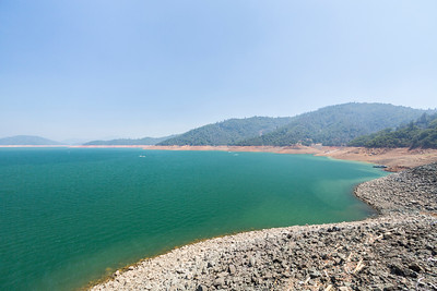 Shasta Dam and Shasta Lake - Shasta Lake, CA, USA