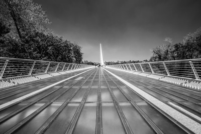 Sundial Bridge - Redding, CA, USA