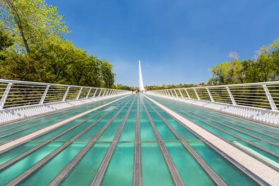 Sundial Bridge - Redding, CA, USA