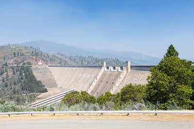 Shasta Dam and Shasta Lake - Shasta Lake, CA, USA
