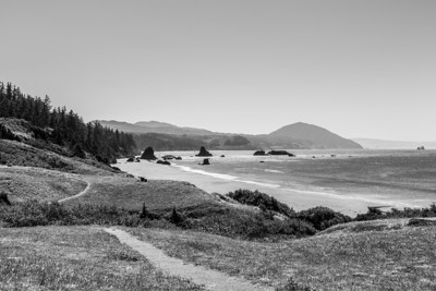 Battle Rock City Park. Port Orford, CA, USA