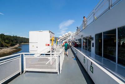 BC Ferries. Victoria, BC, Canada to Vancouver, BC, Canada