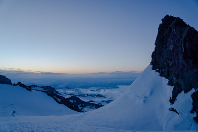 Camp Muir Sunrise