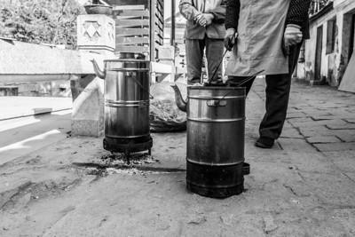 Water Boiler. Tong Li Historical Town (同里). Jiangsu, China (江苏,中国)
