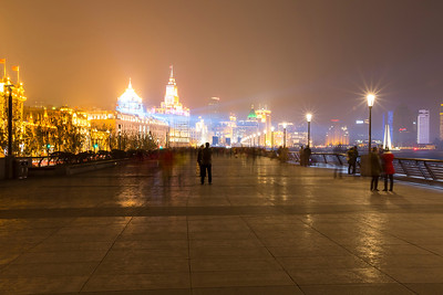 The Bund (外滩) - Shanghai, China (上海,中国)