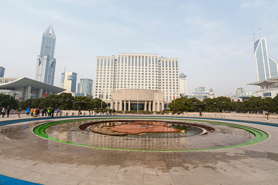 People Square and People's Park area - Shanghai, China (上海,中国)