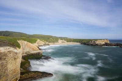 Bonny Doon Beach - Santa Cruz, CA. Shot from Davenport, CA, USA