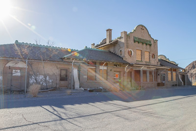 Rhyolite Ghost Casino. Rhyolite Ghost Town - Rhyolite, NV