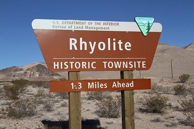 Rhyolite Ghost Town - Rhyolite, NV