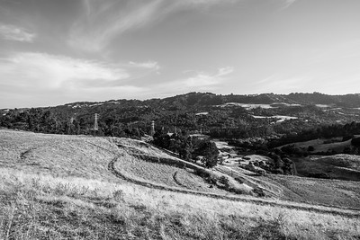 Oursan Trail - East Bay MUD Park at Briones Overlook Staging Area - Orinda, CA, USA