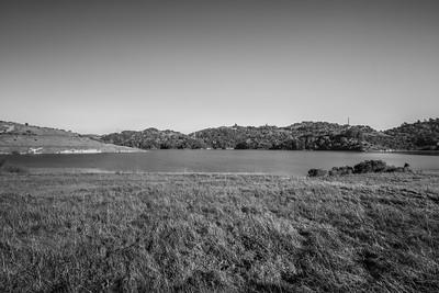 Briones Reservoir. East Bay MUD Park at Briones Overlook Staging Area - Orinda, CA, USA