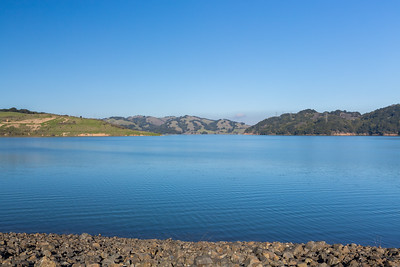 Briones Reservoir. Oursan Trail. East Bay MUD Park at Briones Overlook Staging Area - Orinda, CA, USA