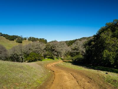 Volvon Trail. Morgan Territory Regional Preserve - Contra Costa County, CA, USA