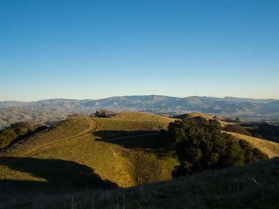 Near Ridgeline Trail. Pleasanton Ridge Regional Park - Sunol, CA, USA