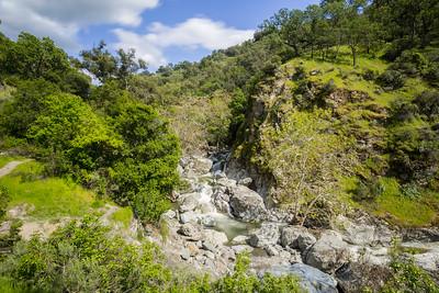 Alameda Creek. Little Yosemite Area. Sunol Regional Wilderness - Sunol, CA, USA