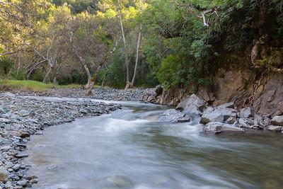 Alameda Creek. Sunol Regional Wilderness - Sunol, CA, USA