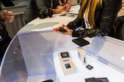 Electronic Wallet. Consumer Electronics Show (CES) 2015 - Las Vegas, NV, USA