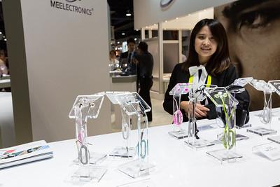 MEElectronics Headphones. Consumer Electronics Show (CES) 2015 - Las Vegas, NV, USA