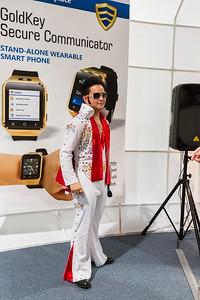 Elvis. Consumer Electronics Show (CES) 2015 - Las Vegas, NV, USA
