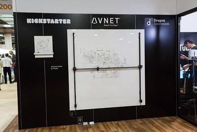 Sketching Machine. Consumer Electronics Show (CES) 2018 - Las Vegas, NV, USA