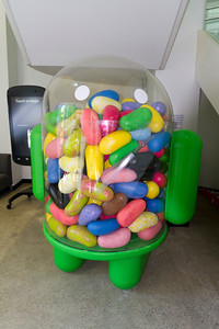 Android Jellybean. Google Android Building - Mountain View, CA, USA