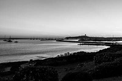 Sunset. Sam's Chowder House. Half Moon Bay, CA