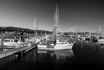 Boats. Half Moon Bay, CA