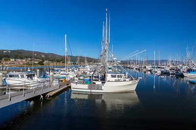 Boats. Half Moon Bay, CA