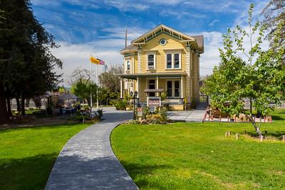 Vietnam Museum. History Park at Kelley Park - San Jose, CA, USA