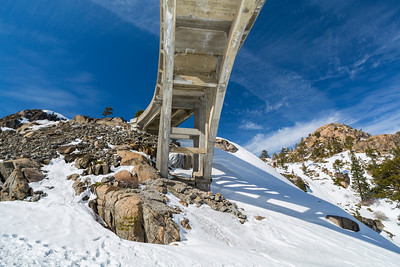 Donner Summit Bridge. Truckee, CA, USA