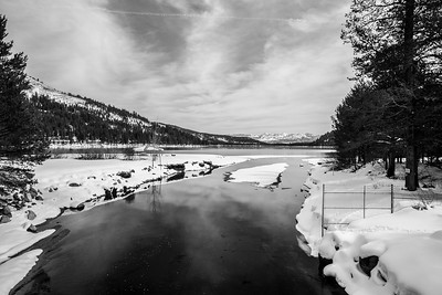 Donner Creek Facing Donner Lake. South Shore Drive - Truckee, CA, USA