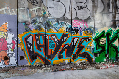 Street Art. Historical Central Pacific Railroad Tunnel #6 (Summit Tunnel). Truckee, CA, USA