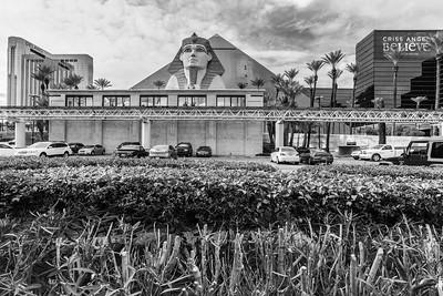 Luxor Hotel & Casino. Las Vegas, NV, USA