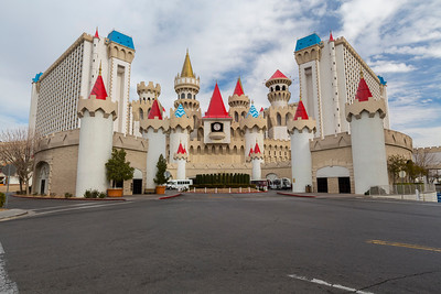 Excalibur Hotel & Casino. Las Vegas, NV, USA
