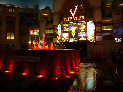 V-Theater. Las Vegas, NV, USA