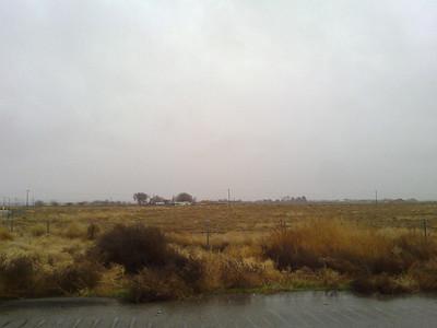 Road to Las Vegas, NV. Heavy Rain.