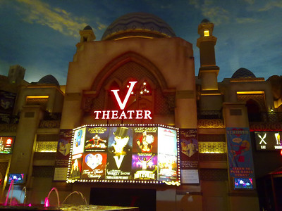 V Theater. Las Vegas, NV, USA