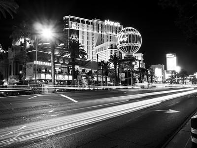 Paris Las Vegas & Planet Hollywood. Shot near Bellagio. South Las Vegas Blvd. Las Vegas, NV, USA