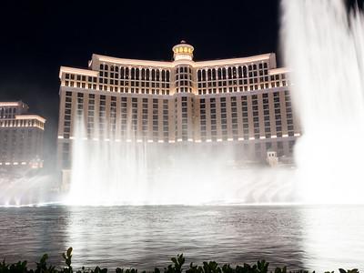 Fountains of Bellagio. South Las Vegas Blvd. Las Vegas, NV, USA