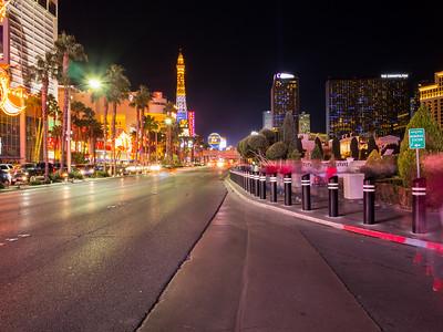 Shot near Caesars Palace. South Las Vegas Blvd. Las Vegas, NV, USA