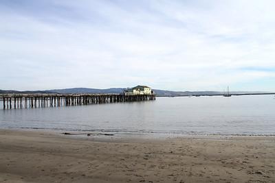 Mega Low Tide. Half Moon Bay, CA, USA