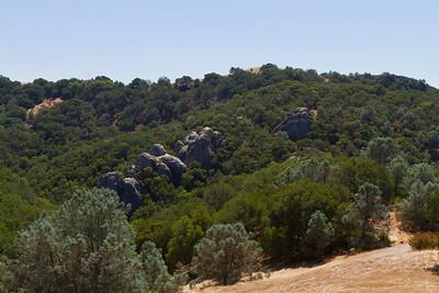 Castle Rock - Mount Diablo State Park - California, USA