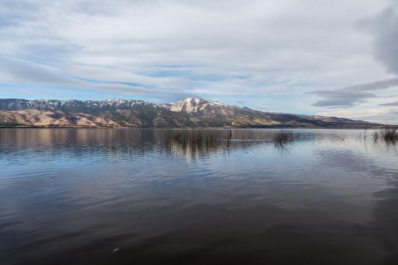 Washoe Lake. Washoe Lake State Park. New Washoe City, NV, USA