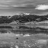 Little Washoe Lake. Washoe Lake State Park. New Washoe City, NV, USA