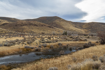 Washoe Lake State Park. New Washoe City, NV, USA