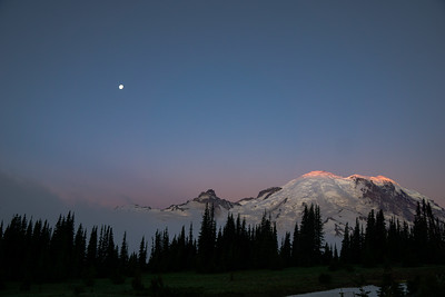 Sunrise at Mount Rainier