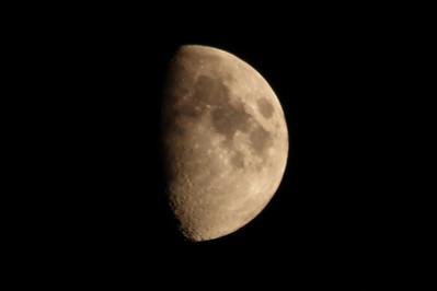 Moon. Pleasanton, CA, USA