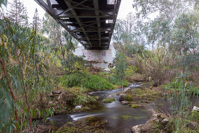 Under The Railroad Tracks. Arroyo Del Valle Trail - Pleasanton, CA, USA